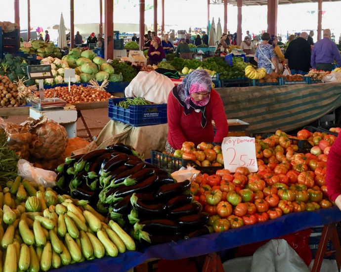 Türkischer Wochenmarkt