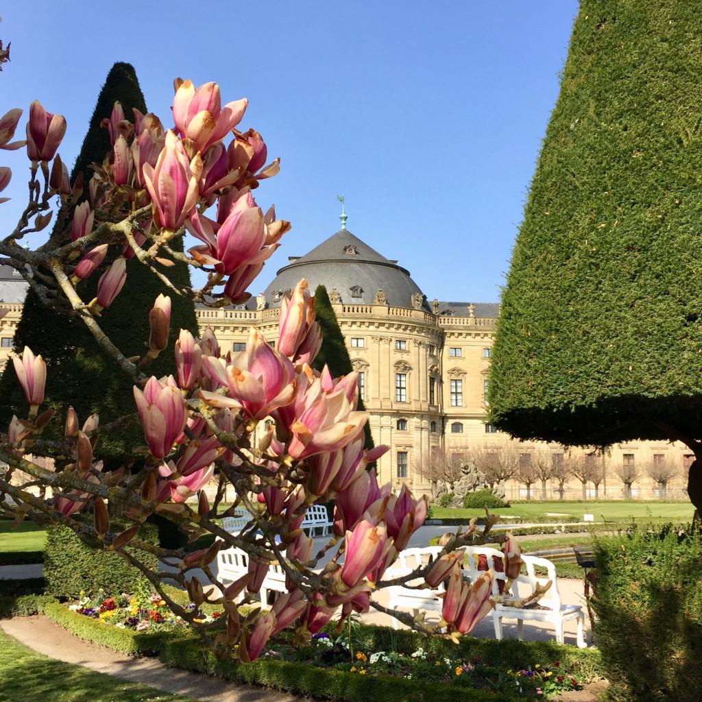 Würzburger Residenz Hofgarten