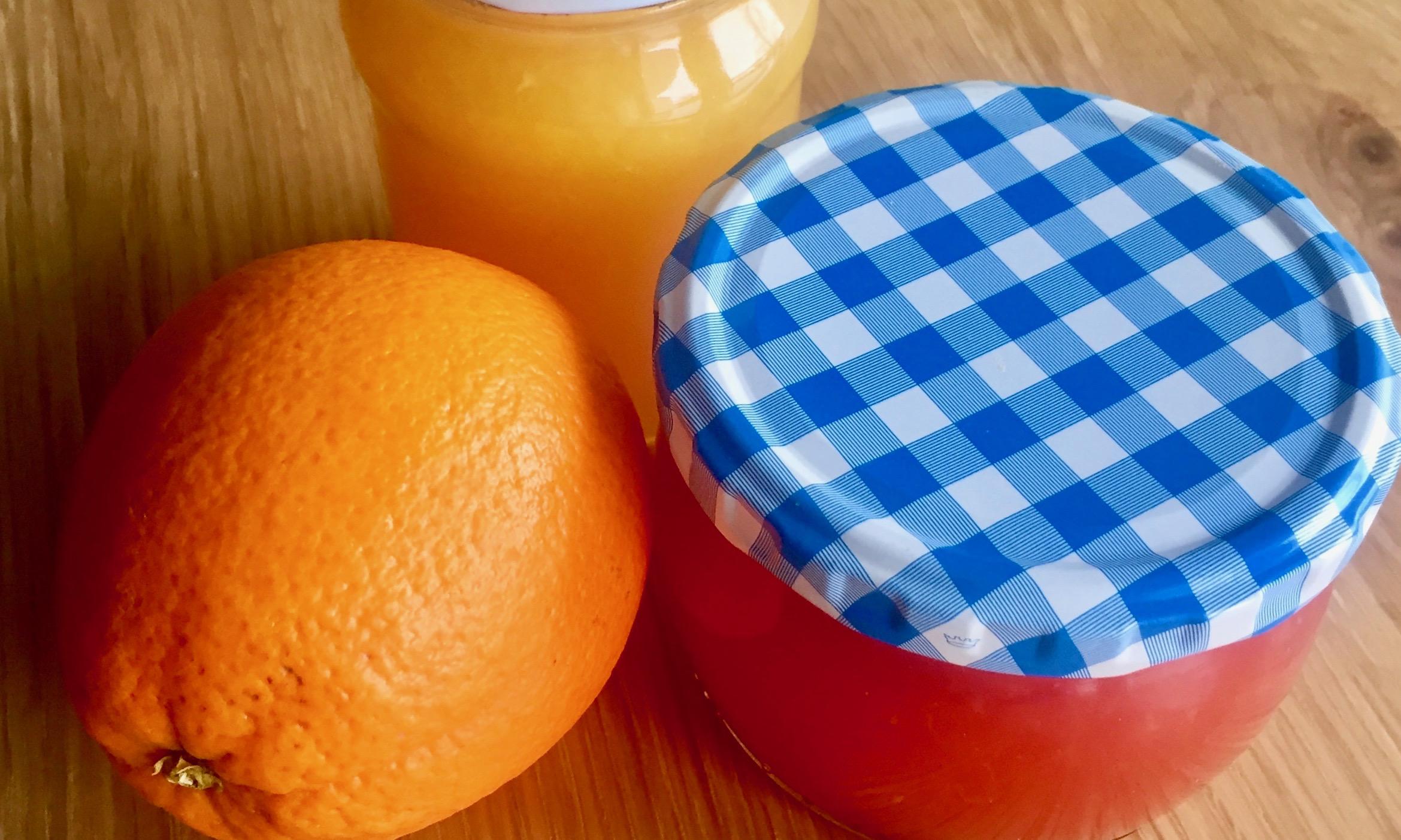 orangensaft-gelee
